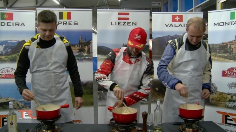 Drivers in action for TER - Cooking Event at ......